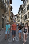 Walking the streets of Florence